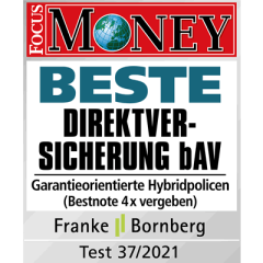 Focus Money Beste Direktversicherung Garantie