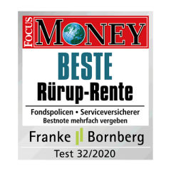 Focus Money Beste RürupRente